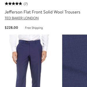 Brand new Ted Baker London dress slacks Navy